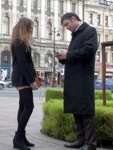 Уличный пикап в Санкт-Петербурге