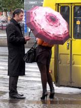 Знакомство на автобусной остановке