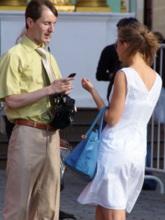 Хорошая осанка особенно важна при первом контакте с незнакомкой