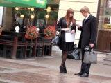 Вечер буднего дня - отличное время для знакомства с девушками в деловых районах города