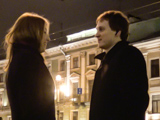 Знакомство на Невском проспекте: взгляд глаза в глаза