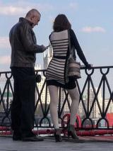 Обмен телефонами с незнакомкой