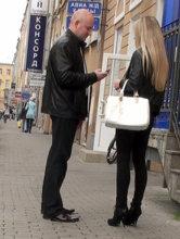 Быстрое уличное знакомство в обеденный перерыв