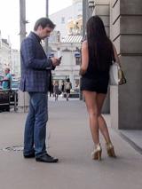 Знакомство у ЦУМа в Москве