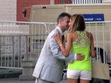 Поцелуй после знакомства с девушкой