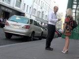 Яркое платье и высокие каблуки могут означать то, что девушка идет на свидание. Или, возможно, у нее просто хорошее настроение. А может быть, она хочет познакомиться с интересным молодым человеком. Гадать можно до бесконечности. Поэтому просто подходите и знакомьтесь.