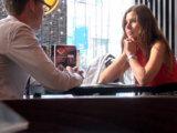 Первое свидание с незнакомкой в кофейне
