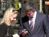 Обмен телефонами после знакомства