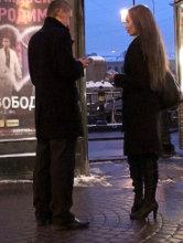 Зимний пикап в Санкт-Петербурге