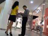 Тренинг по пикапу в торговом центре