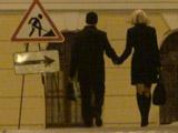 Ведем девушку домой после вечернего свидания