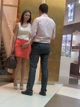 Контраргументация при знакомстве в торговом центре