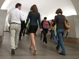 Знакомство с девушкой в переходе московского метро
