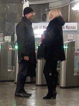 Знакомиться в метро зимой тепло и приятно