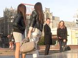 Знакомство с девушкой под наблюдением ее подруг