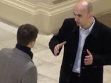 Олейник Андрей инструктирует на практическом занятии