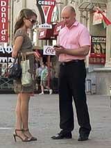 Летнее знакомство в центре Минска