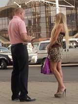 Минск: обмен номерами телефонов с незнакомкой