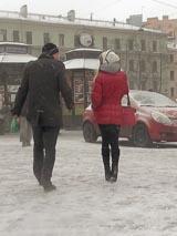 Пикап в Санкт-Петербурге: знакомиться с девушками можно и в метель