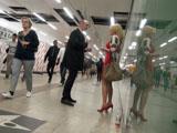 Пикап в Вене: знакомство в подземном переходе