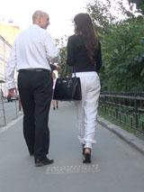 Общение с незнакомкой в центре столицы