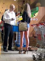 Знакомство в минском супермаркете