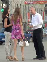 Знакомство с девушками на проспекте Независимости в Минске