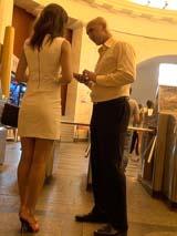 Быстрое знакомство в холле петербургского метро