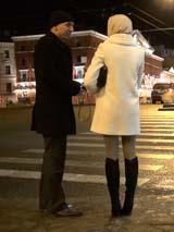 Пикап в СПб: зимнее знакомство с туристкой