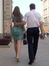 Прогулка с девушкой сразу после знакомства