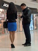 Пикап в Минске: знакомство в торговом центре