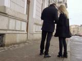Зимнее уличное знакомство в Санкт-Петербурге